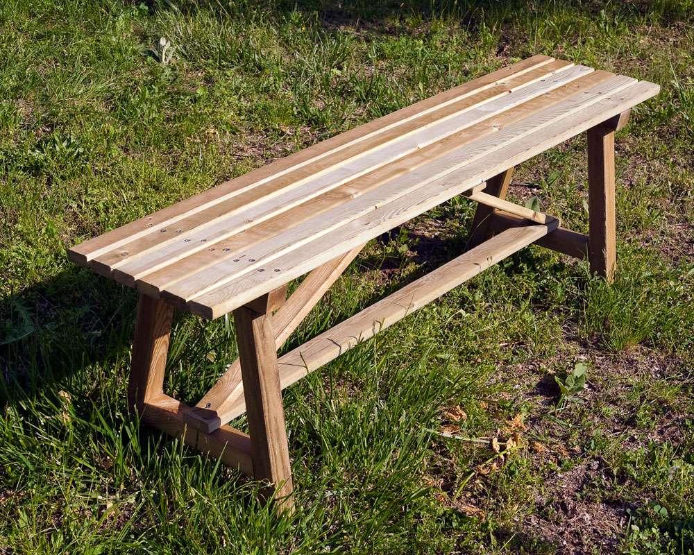 Banc jard t 200 dupi prefabricats for Casetes de fusta per jardi