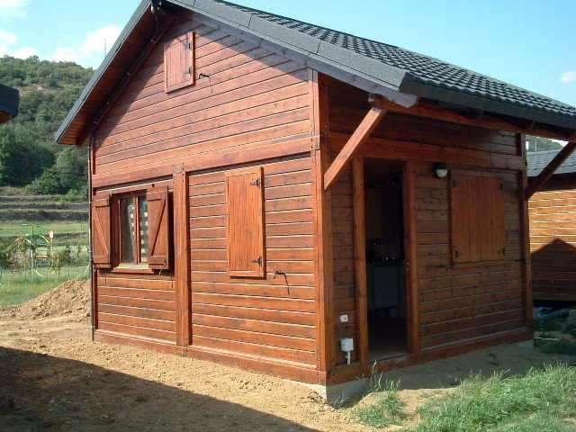 Bungalows de madera dupi prefabricats - Bungalow de madera ...