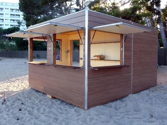 Kioscos de madera dupi prefabricats for Kioscos de madera baratos